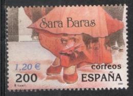 Spagna Spain 2000 - Mostra Filatelica Internazionale International Philatelic Exibition Sara Baras Usato Used - Danza