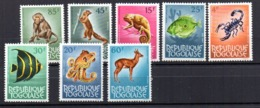 Sellos De Fauna De Togo - Sellos