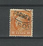 1912  GEORGE WASHINGTON   10 CENT 10 OBLITÉRÉ PERF 12 - United States