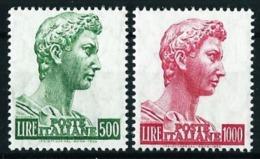 Italia Nº 738/9 Nuevo* Cat.12,50€ - 1946-60: Nuevos