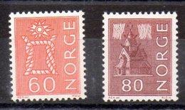 Noruega Sellos Nº Yvert 445Aa-447a ** Valor Catálogo 8.25€ - Nuevos