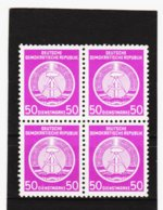YZO670 DDR 1954 DIENSTMARKE - A  Michl 14 VB KATALOGWERT 28,00 € ** Postfrisch ZÄHNUNG Siehe ABBILDUNG - Service