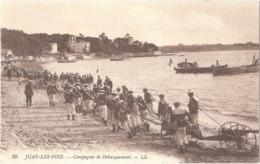 Dépt 06 - ANTIBES - Juan-les-Pins - Compagnie De Débarquement - (LL N° 35) - Juan-les-Pins