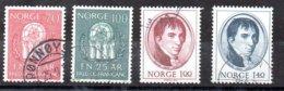 Noruega Serie Nº Yvert 567/68+622/23 O - Nuevos