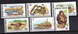 Serie Nº 898/9 +A-319/22  Togo - Sellos
