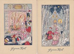 ¤¤  -  Lot De 8 Cartes  -  JOYEUX NOËL  -  PERE NOËL   -  ¤¤ - Noël