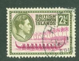 British Solomon Is: 1939/51   KGVI    SG64   2½d     Used - British Solomon Islands (...-1978)