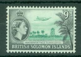 British Solomon Is: 1963/65   QE II - Pictorial   SG108   9d   [Wmk: Block CA]    MH - British Solomon Islands (...-1978)