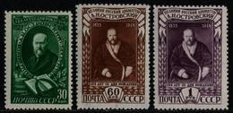 Russia / Sowjetunion 1948 - Mi-Nr. 1217-1219 ** - MNH - A. Ostrowskij (V) - 1923-1991 UdSSR