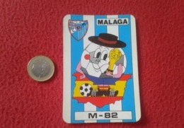 SPAIN CALENDARIO CALENDAR CON PUBLICIDAD RENAULT MÁLAGA MUNDIAL DE ESPAÑA 82 1982 WORLD CUP FOOTBALL FÚTBOL CHAMPIONSHIP - Calendarios