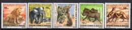 Serie  Nº 358/62 Mauritania - Sellos