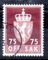 Noruega Sello Servicio Nº Yvert 84A O Valor Catálogo 15.0€ - Nuevos