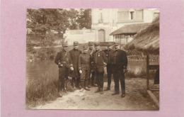 MILITAIRE - 132 Régiment D'infanterie,environs De Reims (photo En 1911, Format 10,1cm X 7,8cm) - Guerre, Militaire