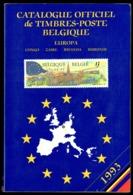 Catalogue Officiel C.O.B.   (FR) 1993 - Timbres De Belgique, Congo, Burundi, Ruanda-Urundi, Sud-Kasaï, Katanga, EUROPA. - België