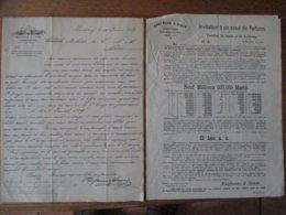 HAMBOURG (VILLE LIBRE) LE 10 JUIN 1889 KAUFMANN & SIMON BANQUIERS COURRIER,BILLETS,INVITATION A LA FORTUNE - Allemagne