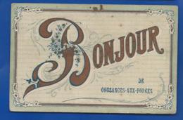 BONJOUR De COUSANGES-AUX-FORGES      écrite En 1905 - Sonstige Gemeinden