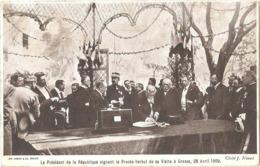 Dépt 06 - GRASSE - Armand FALLIÈRES, Président De La République, En Visite à Grasse Le 28 Avril 1909 (Cliché J. Nicoud) - Grasse