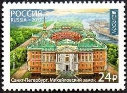 CEPT / Europa 2017 Russie N° 7807 ** Architecture - 2017