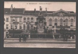 Bruxelles - Fontaine De Brouckère - Monumenti, Edifici