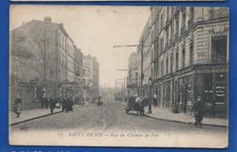 SAINT DENIS   Rue Du Chemin De Fer      Animées - Saint Denis
