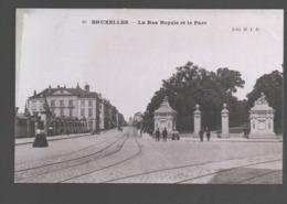 Bruxelles - La Rue Royale Et Le Parc - Avenues, Boulevards