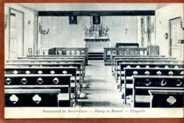 71   CPA  PARAY-LE-MONIAL    Pensionnat Du Sacré-Coeur      Chapelle       Bon état - Paray Le Monial