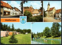 C8325 - TOP Weißensee Freibad Campingplatz Zeltplatz  - Bild Und Heimat Reichenbach - Weissensee