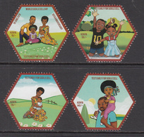 2019 Kenya  NEW ISSUE Sickle Cell Awareness Health Medical  Complete Set Of 4 MNH - Kenia (1963-...)