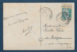 Hautes Pyrénées - Cachet Pointillé LABATUT RIVIERE - Poststempel (Briefe)