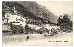 LEGGIA - Valle Mesoicina - Ed. Wehrli, Zürich - GR Grisons