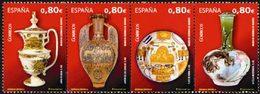 ESPAGNE Céramiques Espagnoles 4v 2011 Neuf ** MNH - 2011-... Unused Stamps