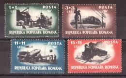 Roumanie - 1948 - N° 1066 à 1069 - Neufs ** - Transports Et Communications - 1948-.... Republiken