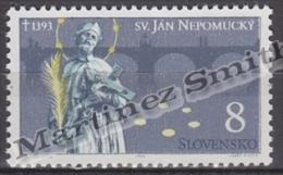 Slovakia - Slovaquie 1993 Yvert 132 600th Ann. Death Of Saint John Nepomucene - MNH - Slovakia