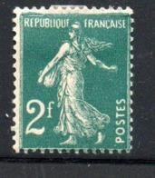 France / N 239a / 2 F   Vert    / NEUF Avec  Charnière - Ungebraucht