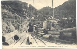 CPA Tunnel Du Somport Tête Française Tranchée D'Accès Et Entrée Du Tunnel - Andere Gemeenten
