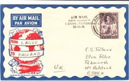 Nigeria / Airmail / Imperial Airways / G.B. - Nigeria (1961-...)