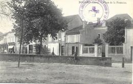 32-cachet Hôpital Aux. De La Croix-Rouge N°18 De Nogaro Sur CP De 1914-cachet Très Rare - Guerre De 1914-18