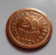 PORTUGAL 20 CENTAVOS 1924  (B12-19) - Portugal