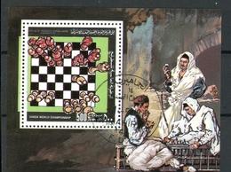 Libyen MiNr. Bl 64 Gestempelt Schach (Scha185 - Libia