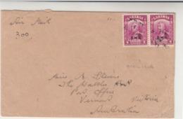 North Borneo / Airmail / Sarawak - Briefmarken