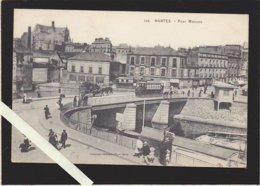 Nantes / Pont Morand , Tram, Belle Animation, Photo Vasselier - Nantes