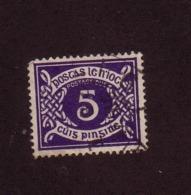 IRLANDE  1940/53 TAXE YVERT N°T10 OBLITERE - 1937-1949 Éire