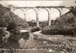 (C).Malnate(VA).Ponte Sul Fiume Olona.F.to Grande.Viaggiata Il 22-7-65' (c17) - Varese