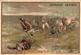 CHROMO CHOCOLAT DEVINCK DEROUTE DE CHOLET - Chocolat