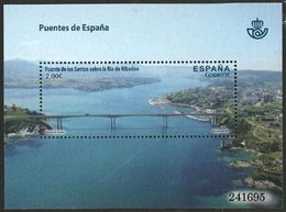 ESPAGNE Bloc Pont Los Santos /Ribadeo Neuf ** MNH - 2011-... Unused Stamps