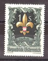 Autriche - 1951 - N° 800 - Neuf ** - 7ème Jamboree à Bad Ischl - 1945-.... 2. Republik