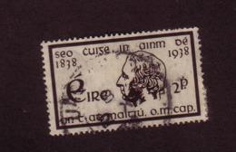 IRLANDE 1938 PERE MATHEW  YVERT N°73 OBLITERE - 1937-1949 Éire