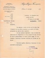 1931 EXPOSITION COLONIALE INTERNATIONALE DE PARIS - Envoi CARTE DE PRESSE Au BERRY SPORTIF à CHÂTEAUROUX - Historical Documents