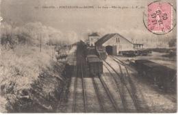 FR21 PONTAILLER SUR SAONE - LV 247 -  La Gare - Train - Other Municipalities