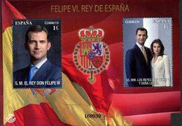 ESPAGNE Bloc Felipe VI,roi D'Espagne 14 Neuf ** MNH - 2011-... Neufs